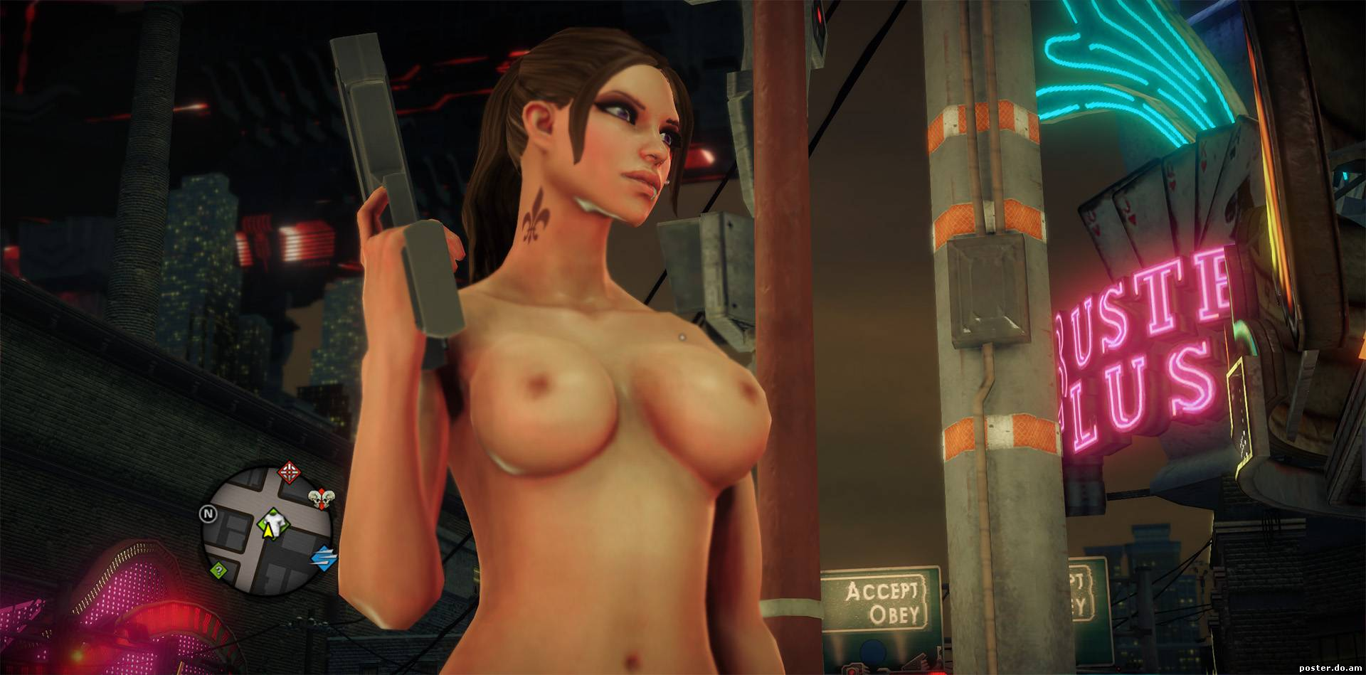 Busty mods saints row nackt photo