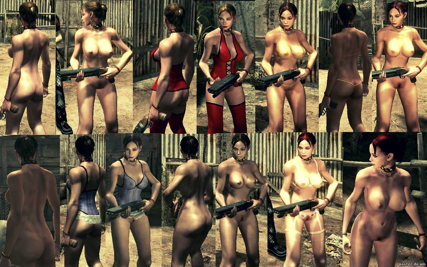 Resident evil all parts nude mod rar nudes gallery