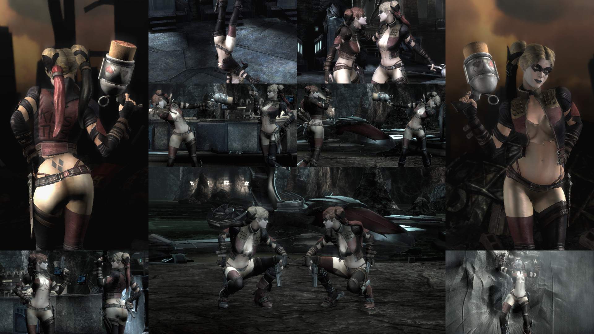 What is the nude code for catwoman  adult clips