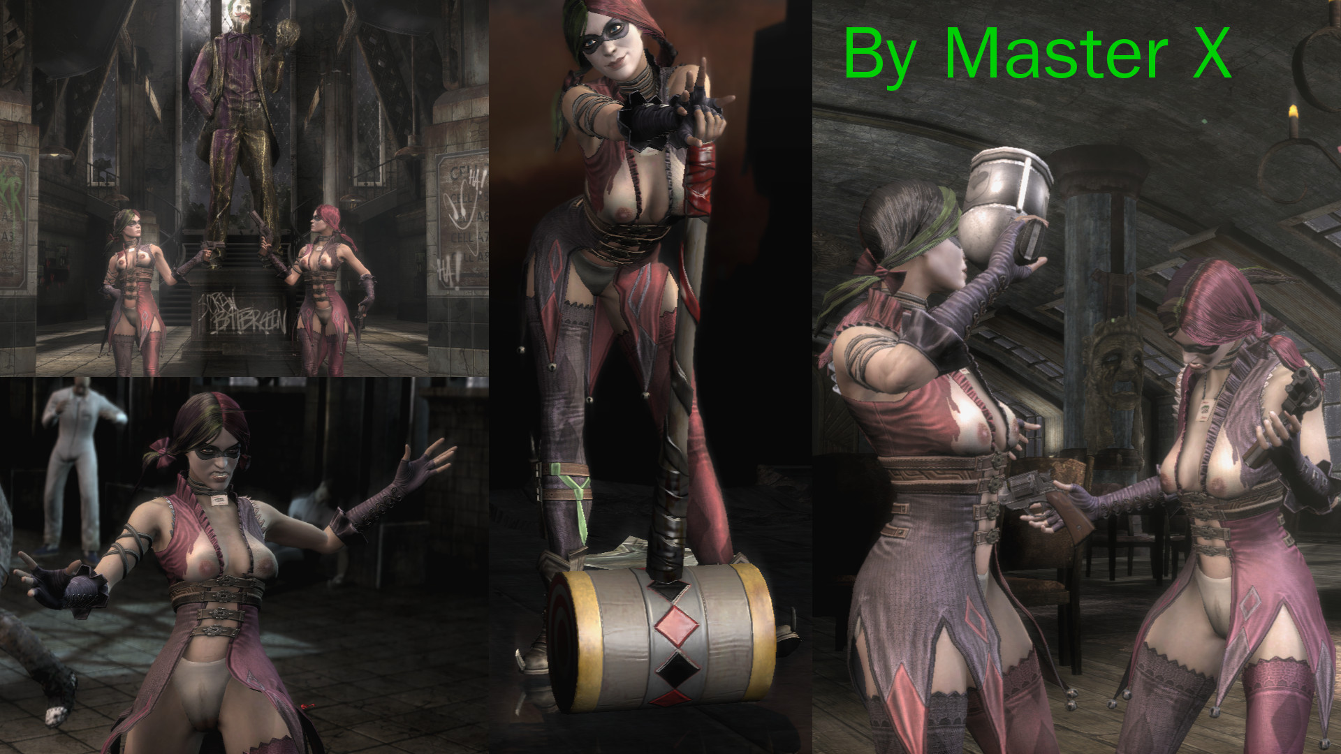 Arkham city catwoman skin mod nude sexy movie