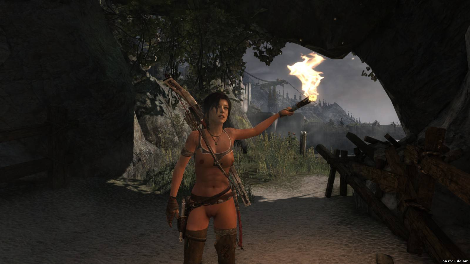 Tombraider 2013 nude patch softcore scenes